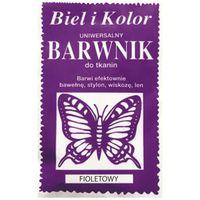 Barwnik do tkanin farba z motylem FIOLETOWY
