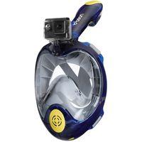 Maska do nurkowania pełnotwarzowa Beon Pro Blue