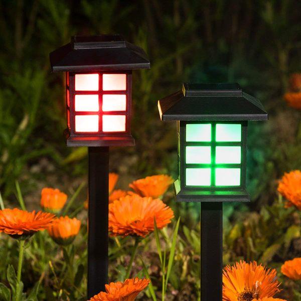SOLARNA LAMPA OGRODOWA LAMPKI WBIJANA LAMPION LED zdjęcie 3