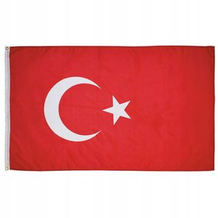 Flaga na maszt 90 x 150 cm Turcja