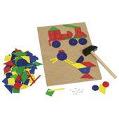 Przybijanka dla dzieci, zabawka montessori
