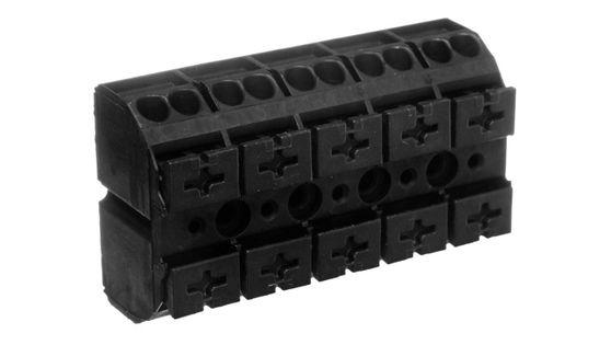 Blok zasilający 5-torowy czarny 862-505 - WAGO