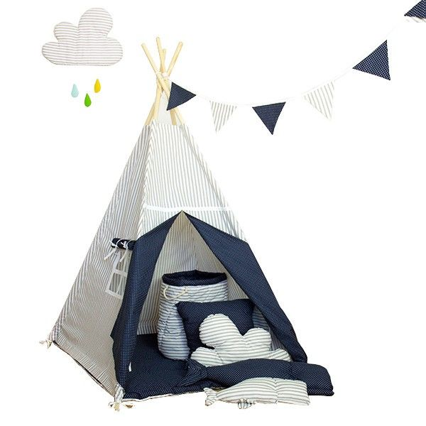"""Namiot tipi dla dziecka """"Wieczorna baśń"""" - zestaw mini zdjęcie 1"""