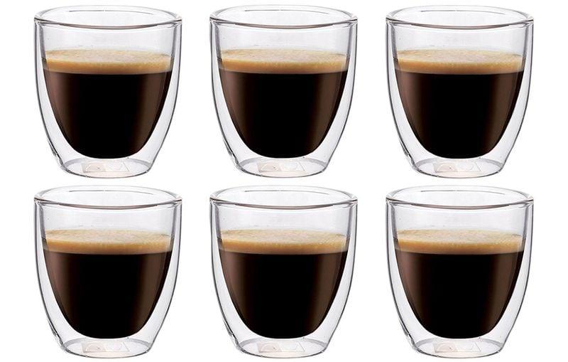 Szklanki Termiczne do Kawy Espresso Herbaty 80ml 6 sztuk zdjęcie 1