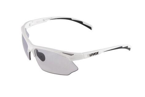 Okulary rowerowe UVEX Sportstyle 802 V - białe