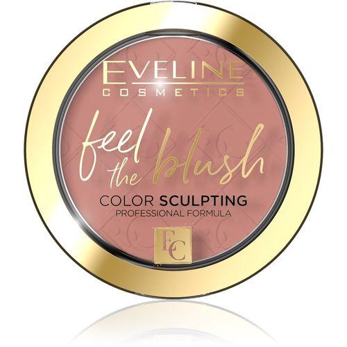 Eveline Cosmetics Feel The Blush Róż Do Policzków 04 Tea Rose 5G na Arena.pl