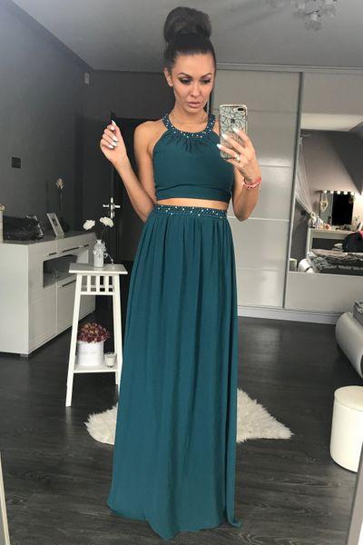 3187acd738d3ef ... Sukienka Wieczorowa Model 17802 Green YourNewStyle Rozmiar - L zdjęcie  ...