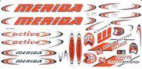 Naklejka KR4 - MERIDA pomarańczowy