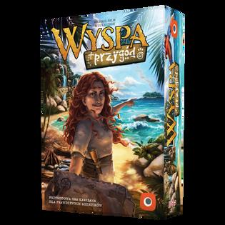 WYSPA PRZYGÓD  GRA PLANSZOWA PORTAL GAMES