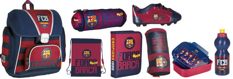 Tornister szkolny FC-76 FC Barcelona w zest. Z10 zdjęcie 1