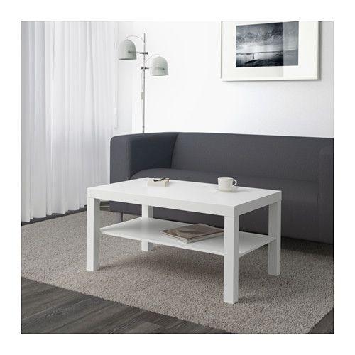 Ikea Lack Stolik Kawowy ława Biały 90x55 Cm
