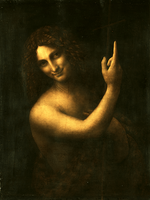 Reprodukcje obrazów Jan Chrzciciel - Leonardo da Vinci Rozmiar - 80x60