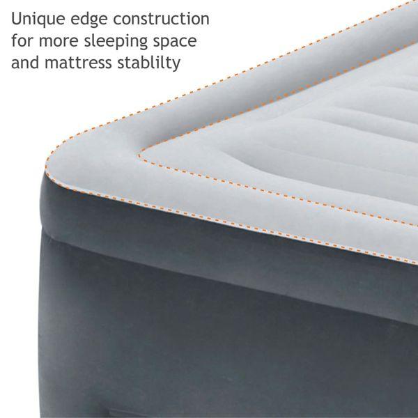 Intex Materac dmuchany Comfort Plush High Rise Queen z pompką, 64418 GXP-680211 zdjęcie 8