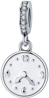 Charms Srebro - Szczęśliwy Czas, Zegar
