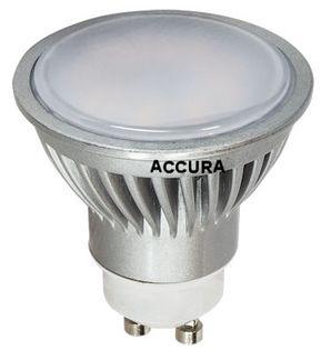 GU10 6W Żarówka LED HALOGEN CCD 45W Zimna ACCURA