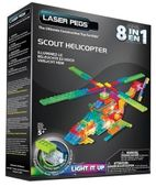 Laser pegs 8 in 1 Scout Helicopter