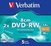 DVD-RW MINI 1.4GB VERBATIM 1szt