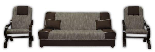 MIKI LENIUCH - wersalka kanapa fotel zestaw komplet wypoczynkowy