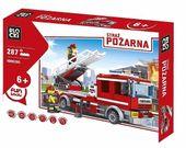 Blocki Klocki Straż pożarna 287 elementów - Wóz strażacki