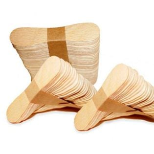 Patyczki do lodów, drewniane, 50 szt, 72x17x2 mm