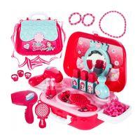 Toaletka dla dziewczynki w torebce zestaw kosmetyczny kuferek Y182