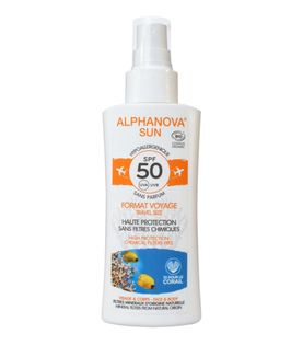 Alphanova Sun Spray Przeciwsłoneczny z filtrem SPF 50 - 90 g