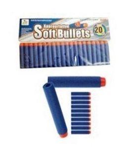 Strzałki miękkie 20 sztuk