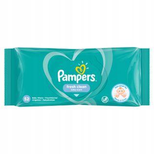 Pampers Fresh Clean chusteczki nawilżane 52 szt.