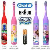 Szczoteczka elektryczna Braun ORAL-B DLA DZIECI - WYBIERZ 4 MODELE
