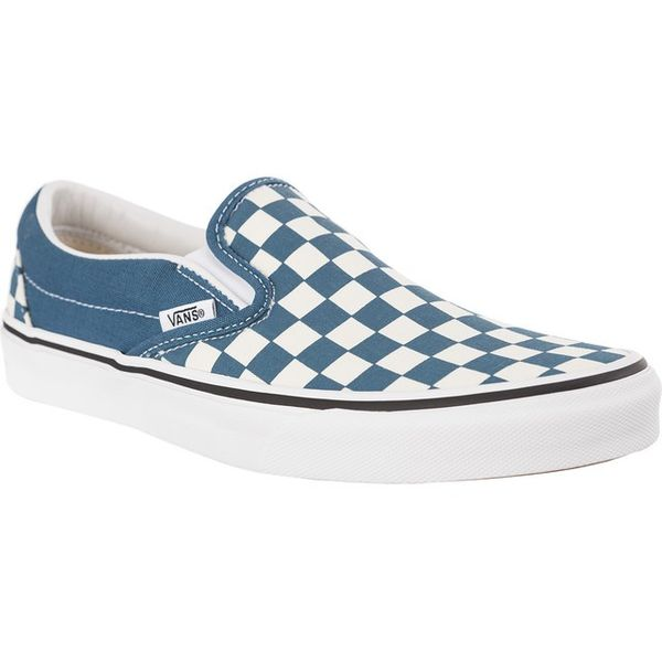 Los Angeles wyglądają dobrze wyprzedaż buty Nowa lista Vans CLASSIC SLIP ON U78 CHECKERBOARD CORSAIR TRUE WHITE Rozmiar - 39