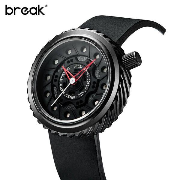 Nowoczesny, męski zegarek Break w eleganckim pudełku zdjęcie 5