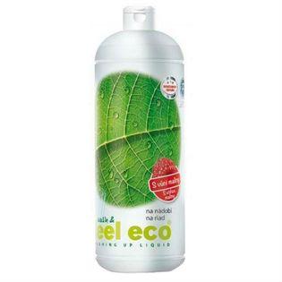 Płyn do mycia naczyń owoców i warzyw o zapachu malinowym 1l Wash & feel eco