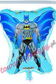 balon na hel BATMAN niebieski