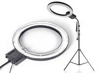 Lampa pierścieniowa RING NG-65C 65W + Mocny statyw