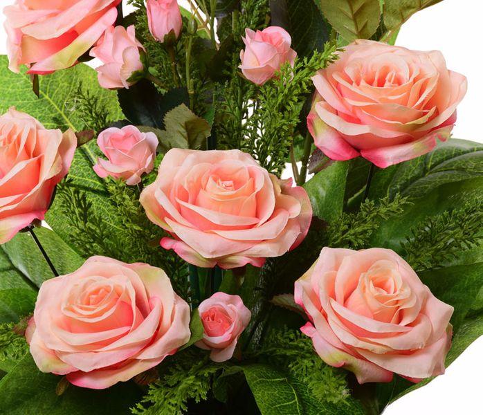 Wiązanka kompozycja herbaciana róża +bukiet zdjęcie 4