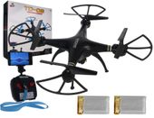 Dron TD08 II Generacji z Kamerą WiFi Podgląd na żywo 2xAKU CZARNY Z312