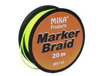 MIKA PRODUCTS - MARKER BRAID - 20 m żółty