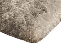 Mięciutki wysoki dywan pluszowy 140x200 beżowy