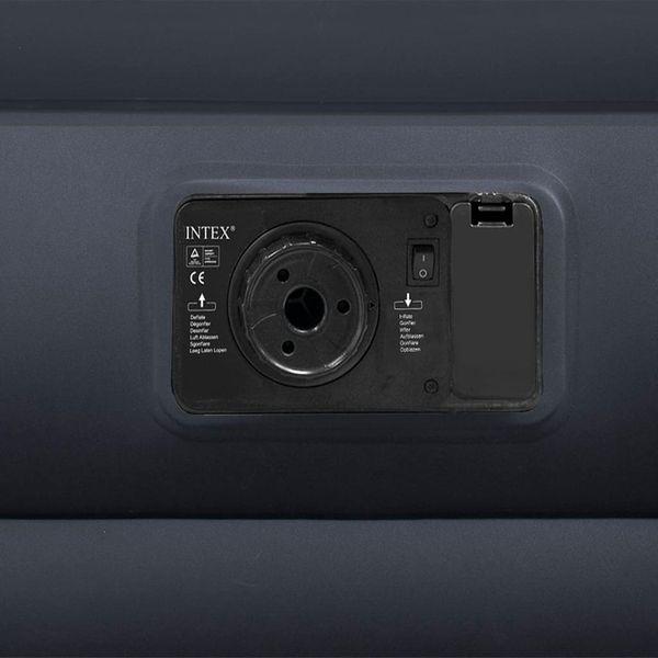 Intex Materac dmuchany PVC, z poduszką, 99x191x42 cm, czarny GXP-680211 zdjęcie 2