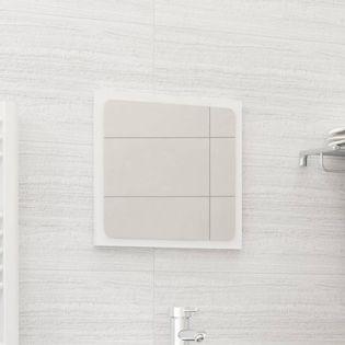 Lumarko Lustro łazienkowe, wysoki połysk, białe, 40x1,5x37 cm, płyta!