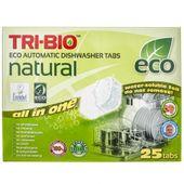 Tri-Bio Ekologiczne tabletki do zmywarek All in One - 25 sztuk