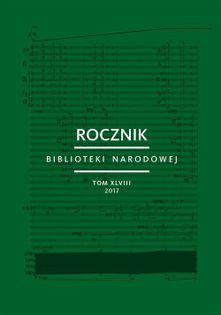 Rocznik Biblioteki Narodowej