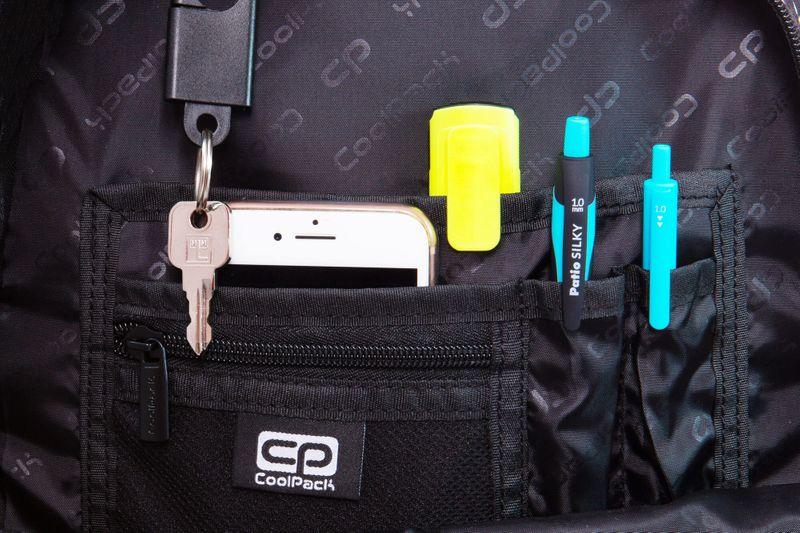 Dwukomorowy plecak szkolny CoolPack Strike L 27L, Jungle B18041 zdjęcie 6