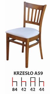 Krzesła Krzesło Tanio A59 Producent  Drewniane Bukowe