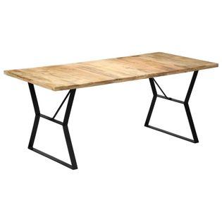 Stół jadalniany, 180 x 90 x 76 cm, lite drewno mango