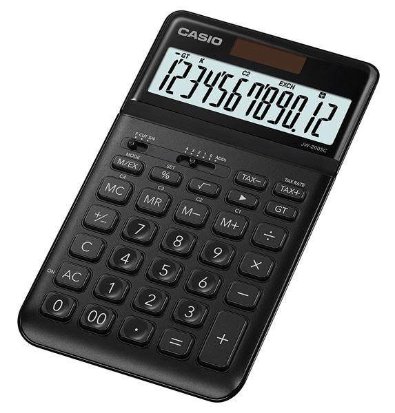 Kalkulator Casio JW-200SC-BK Stylish Series zdjęcie 2