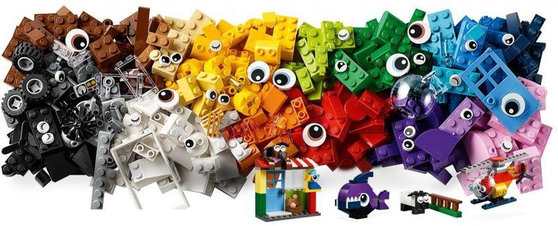 Lego Classic Klocki-buźki zdjęcie 4