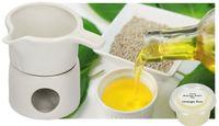 Podgrzewacz ceramiczny do podgrzewania olejków i topienia maseł 2 el.