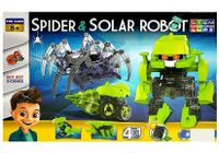 Zestaw Naukowy Robot Solarny Zestaw 4 w 1 + Pająk