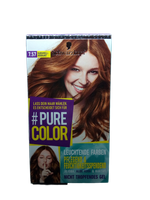 Schwarzkopf Pure Color farba karmel 7.57